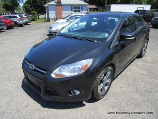 Used 2014 Ford Focus FUEL EFFICIENT SE-MODEL 5 PASSENGER 2.0L - DOHC.. HEATED SEATS.. SYNC TECHNOLOGY.. BACK-UP CAMERA.. BLUETOOTH SYSTEM.. KEYLESS ENTRY.. for sale in Bradford, ON