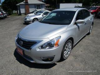Used 2015 Nissan Altima GAS SAVING 'S-TYPE-PACKAGE' 5 PASSENGER 2.5L - DOHC.. CD/AUX/USB INPUT.. BLUETOOTH SYSTEM.. KEYLESS ENTRY.. BACK-UP CAMERA.. PURE-DRIVE-PACKAGE.. for sale in Bradford, ON