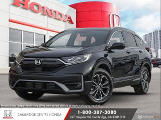 New 2021 Honda CR-V EX-L LEATHER INTERIOR   APPLE CARPLAY™ & ANDROID AUTO™   IDLE STOP for sale in Cambridge, ON