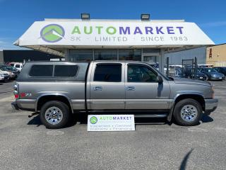 Used 2006 Chevrolet Silverado 1500 CREW CAB 4WD INSPECTED! FREE BCAA & WRNTY! for sale in Langley, BC