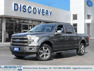 Used 2017 Ford F-150 Lariat for sale in Burlington, ON