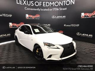 Used 2015 Lexus IS 350 F Sport Series 3 for sale in Edmonton, AB