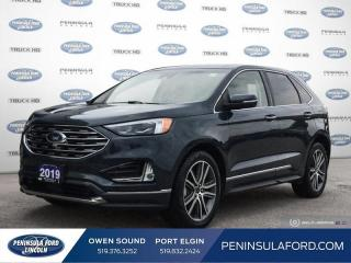 Used 2019 Ford Edge Titanium - Heated Seats -  Power Tailgate - $236 B/W for sale in Port Elgin, ON