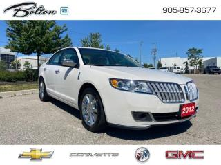 Used 2012 Lincoln MKZ Cooled and Heated Seats for sale in Bolton, ON