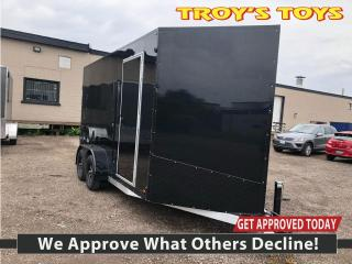 New 2021 Canadian Trailer Company 7x14 V-Nose Cargo Tailer Tandem for sale in Guelph, ON