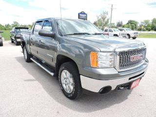 Used 2011 GMC Sierra 1500 SLT Leather 4X4 Sunroof DVD Well oiled Loaded for sale in Gorrie, ON