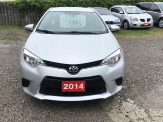 Used 2014 Toyota Corolla LE for sale in Hamilton, ON