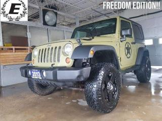 Used 2013 Jeep Wrangler Sport FREEDOM EDITION!! for sale in Barrie, ON