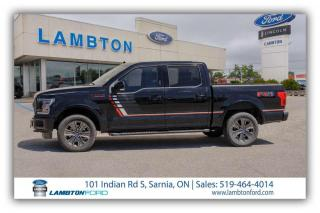 Used 2018 Ford F-150 Lariat 4x4 SuperCrew Cab Styleside 145.0 in. WB for sale in Sarnia, ON