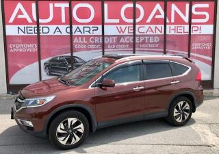 Used 2015 Honda CR-V TOURING-ALL CREDIT ACCEPTED for sale in Toronto, ON