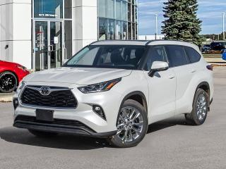 New 2021 Toyota Highlander Limited WITH PREMIUM PAINT! for sale in Winnipeg, MB