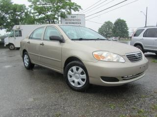 Used 2008 Toyota Corolla CE for sale in Mississauga, ON