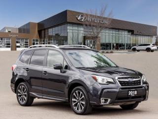 Used 2018 Subaru Forester 2.0XT Touring w/Eye | No Accident | Navigation | Moonroof | for sale in Winnipeg, MB