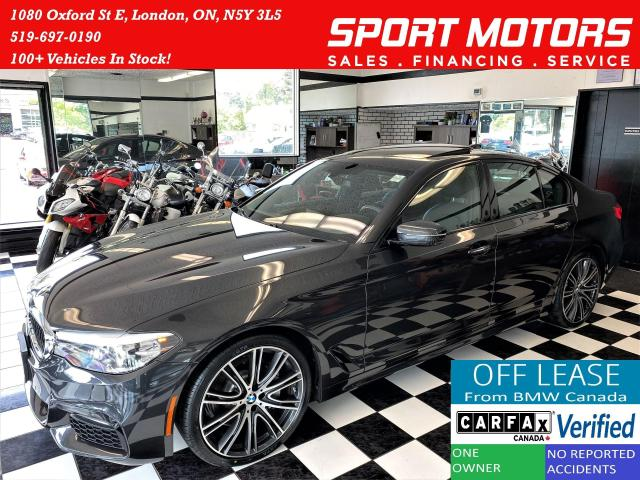 2017 BMW 5 Series 540i xDrive+Night Vision+New Tires+CLEAN CARFAX