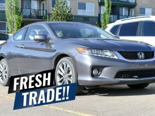Used 2013 Honda Accord Cpe EX-L w/Navi 6-SPEED MANUAL for sale in Red Deer, AB