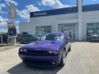 Used 2014 Dodge Challenger RT MANUAL/V8/LEATHER/BACKUPCAM/NAV for sale in Edmonton, AB