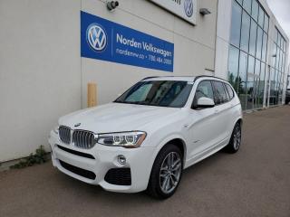 Used 2016 BMW X3 xDrive28i - M Sport Pkg! for sale in Edmonton, AB
