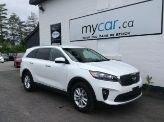 Used 2019 Kia Sorento 2.4L EX LEATHER, HEATED SEATS/WHEEL, 7 PASS, BACKUP CAM!! for sale in North Bay, ON