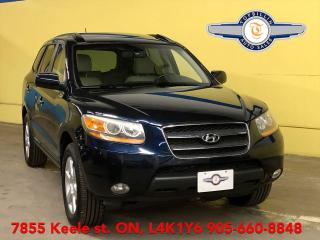 Used 2009 Hyundai Santa Fe AWD, Leather, Sunroof, 2 Years Warranty for sale in Vaughan, ON