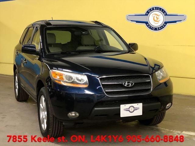 2009 Hyundai Santa Fe AWD, Leather, Sunroof, 2 Years Warranty