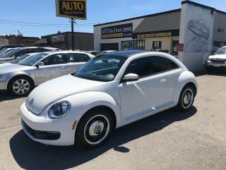 Used 2013 Volkswagen Beetle 2.5L Comfortline CLASSIC LOOK ! WELL MAINTAINED, COMFORTLINE for sale in Etobicoke, ON