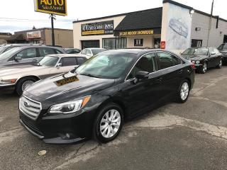Used 2017 Subaru Legacy 2.5i NO ACCIDENTS, TOURING TRIM, AWD! for sale in Etobicoke, ON