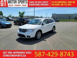 Used 2015 Dodge Journey R/T | AWD | 7 PASSENGER | DVD | EVERYONE APPROVED! for sale in Calgary, AB