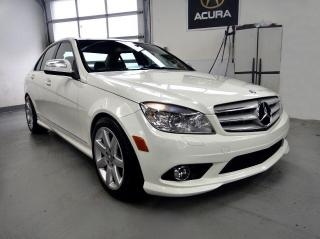 Used 2009 Mercedes-Benz C-Class AWD ,MUST SEE,LEATHER ROOF for sale in North York, ON