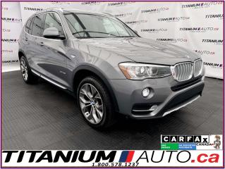 Used 2017 BMW X3 Intelligent Safety+360 Camera+Pano Roof+Sport Seat for sale in London, ON