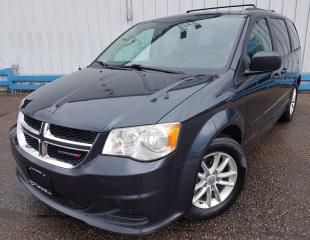 Used 2014 Dodge Grand Caravan SXT *DVD PLAYER-STOW N GO* for sale in Kitchener, ON