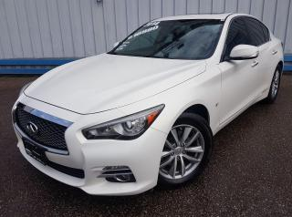 Used 2014 Infiniti Q50 AWD *LEATHER-SUNROOF-NAVIGATION* for sale in Kitchener, ON