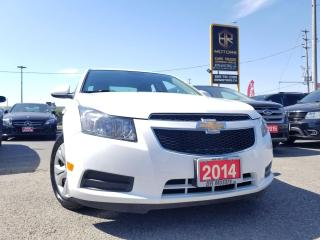 Used 2014 Chevrolet Cruze Ontario Vehicle| Low Km| 1LT | Certified for sale in Brampton, ON