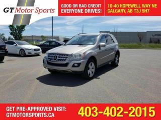 Used 2009 Mercedes-Benz M-Class 3.0L BlueTEC ML 320 I$0 DOWN-EVERYONE APPROVED for sale in Calgary, AB