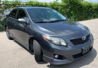 Used 2010 Toyota Corolla S for sale in Stouffville, ON