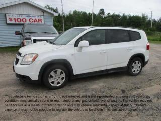 Used 2012 Chevrolet Orlando 1LT for sale in North Bay, ON