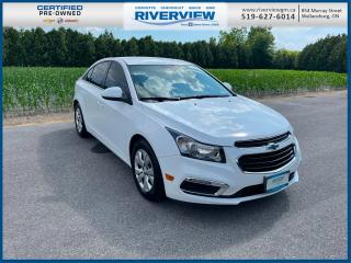 Used 2015 Chevrolet Cruze 1LT Remote Start | Climate Control | Cruise Control for sale in Wallaceburg, ON