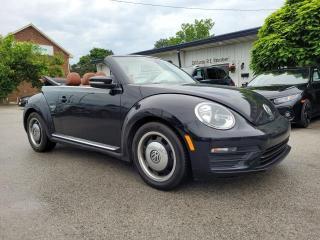Used 2017 Volkswagen Beetle 1.8T CLASSIC CONVERT for sale in Waterdown, ON