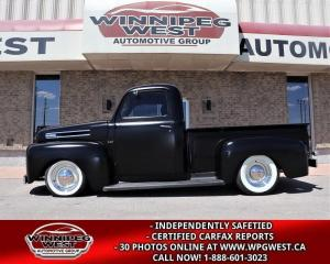 Used 1948 Ford F-47 STUNNING RESTO-MOD, ALL STEEL, FLAT HEAD V8, SWEET for sale in Headingley, MB