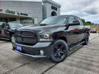 Used 2016 RAM 1500 SPORT for sale in Sarnia, ON