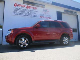 Used 2010 Ford Escape Limited 3.0L for sale in Swift Current, SK