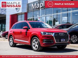 Used 2018 Audi Q7 Komfort AWD Navi Moonroof Backup Camera for sale in Maple, ON