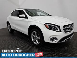 Used 2018 Mercedes-Benz GLA GLA 250 - AWD - Toit Panoramique -Bluetooth-Cuir for sale in Laval, QC