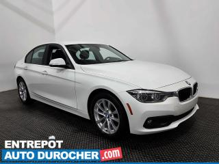 Used 2017 BMW 3 Series 320i xDrive - Bluetooth - Climatiseur - Cuir for sale in Laval, QC
