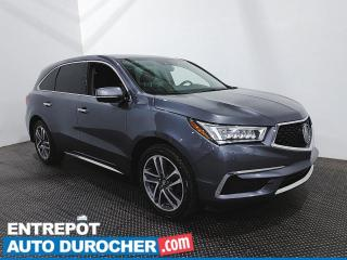 Used 2018 Acura MDX AWD-  7 Passagers -Navigation -Toit Ouvrant -Cuir for sale in Laval, QC