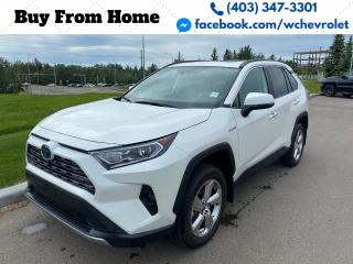 Used 2021 Toyota RAV4 Hybrid Limited for sale in Red Deer, AB