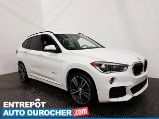 Used 2017 BMW X1 XDrive28i - Toit Panoramique - Bluetooth - Cuir for sale in Laval, QC