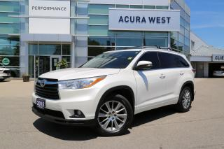 Used 2015 Toyota Highlander XLE XLE with Nav and trailer hitch for sale in London, ON