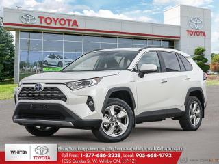 New 2021 Toyota RAV4 Hybrid Limited for sale in Whitby, ON