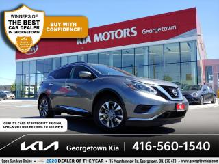 Used 2018 Nissan Murano SV | NAV | BU CAM | 48K | 1 OWNER | HTD SEATS | BT for sale in Georgetown, ON