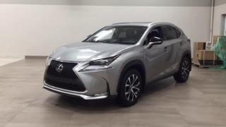 Used 2017 Lexus NX 200t F Sport 3, Red Interior, HUD, Navi, Camera, Loaded for sale in Concord, ON